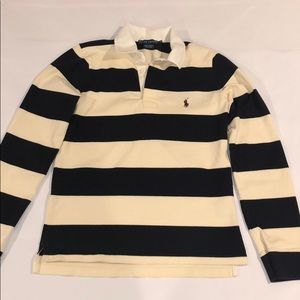 Ralph Lauren Boys Long Sleeved Polo